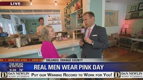 David Does It: Real Men Wear Pink Day