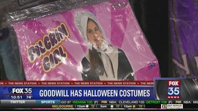 Goodwill has racks filled with Halloween costume ideas