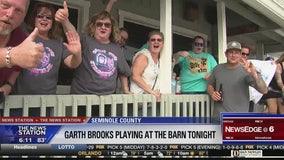 Country music legend Garth Brooks in Sanford