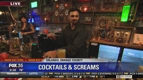 David Does It: Cocktails & Screams