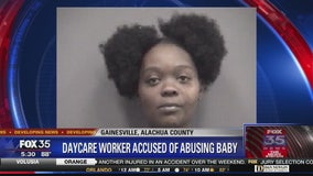 Daycare worker accused of abusing baby