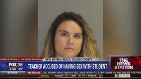 Florida teacher, coach accused of having sex with student