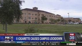 E-cigarette mistaken for bomb sends school on lockdown