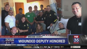 Wounded deputy honored with free cruise