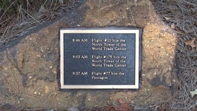 3 bronze plaques stolen from Sept. 11th memorial in New Jersey