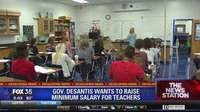 Florida governor proposes minimum teacher salary