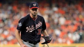 Nationals ace Max Scherzer not starting Game 5 of World Series because of neck and back spasms