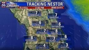 Weather Forecast: October 18