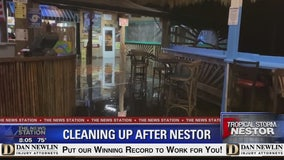 Cleaning up after Nestor