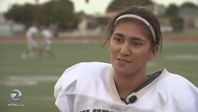San Jose high-school senior first female player to throw touchdown pass