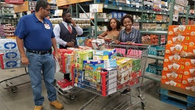 Bethune-Cookman students stock food pantry