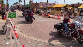 Revelers at Biketoberfest refuse to let Nestor dampen the fun