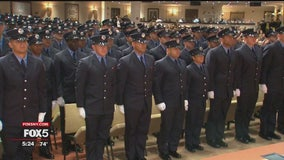 Children of 9/11 first responders graduate from FDNY academy