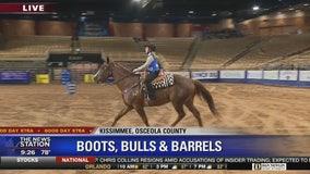 David Does It: Boots, Bulls, & Barrels