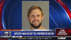 Deputies say man did not reveal HIV status to partners