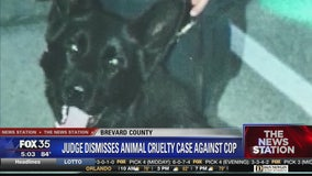 Animal cruelty charges dismissed in K-9 death