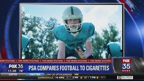 PSA compares youth football to smoking cigarettes