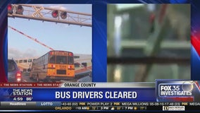 Internal investigation clears Orange County school bus drivers