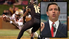 Florida Governor DeSantis backs efforts to allow college athletes to earn money