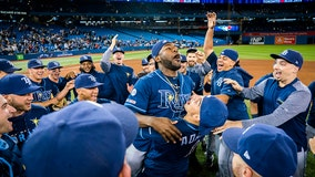 Rays clinch wild card with 6-2 win over Blue Jays