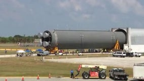 NASA's 'Pathfinder' arrives at the Kennedy Space Center