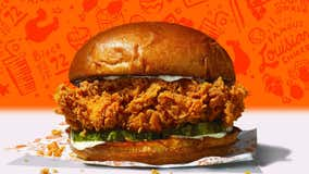 New York man claims to have found joint in Popeyes Chicken Sandwich
