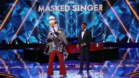'The Masked Singer' unmasks the celebrity contestant behind the eagle