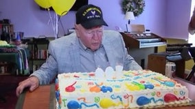 WWII vet's secret to living to 100: 'Good genes'