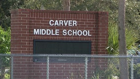 Two Florida middle school students chased, spat on by stranger