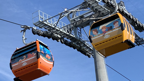 Disney Skyliner gondolas open today, allowing guests to take flight