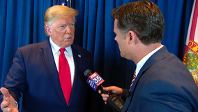 FOX 35 exclusive one-on-one with President Donald Trump