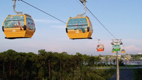 Walt Disney World's Skyliner gondolas open this weekend