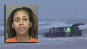 Mom goes home 5 years after driving van with kids into ocean at Daytona Beach