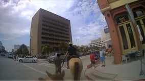 """""""This is going to look so bad"""": Galveston PD releases body camera video of controversial arrest"""
