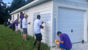 Orlando Magic and Jewett Orthopaedic paint Habitat home