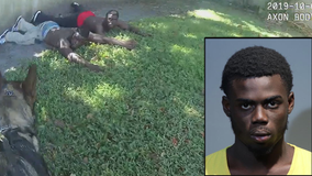 VIDEO: Florida K-9 takes down pair of suspected burglars