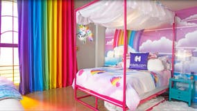 Colorful Lisa Frank themed hotel suite now available in downtown Los Angeles