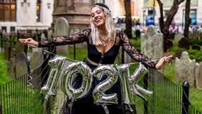 Woman celebrates 'death' of $102G in student loans with graveyard photoshoot