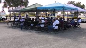 Community activists hold crime prevention rally in Pine Hills