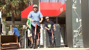 Hundreds of electric scooters may soon be heading to Downtown Orlando