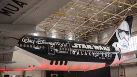 Star Wars-inspired plane unveiled