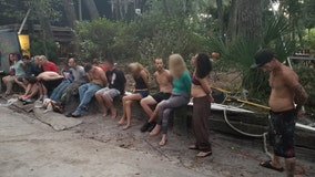 'Operation Meth-O-Ween': Deputies arrest 12 people in drug sweep of problem residence