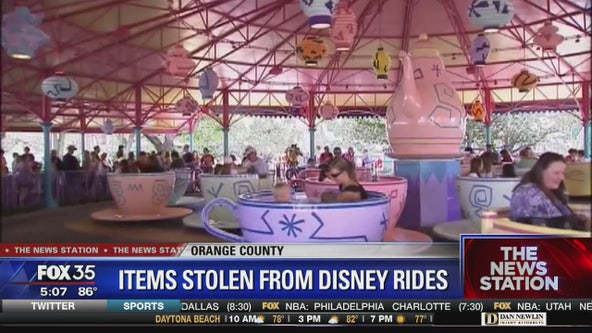 Disney World reports $20,000 worth of attraction items missing