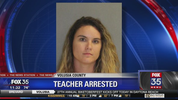Teacher arrested in New Smyrna Beach