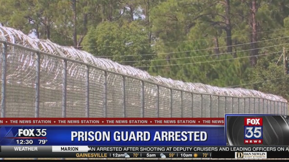 Prison guard charged with malicious battery, perjury