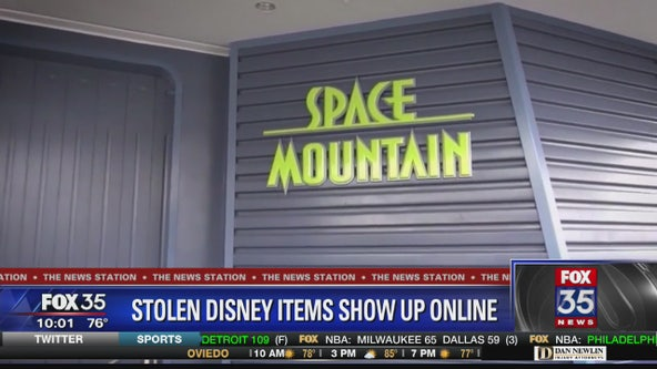 Stolen Disney items show up online