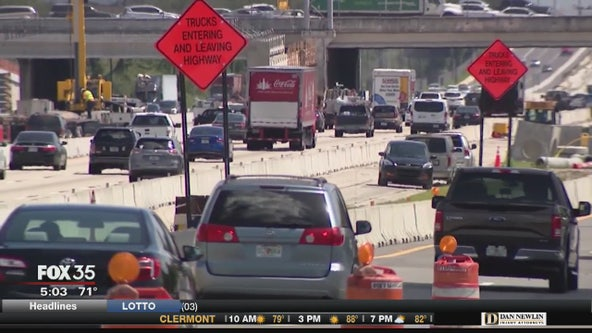 Construction restarts on I-4 Ultimate Project