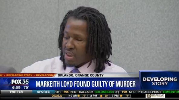 GUILTY: Jury finds Markeith Loyd guilty in murders of Sade Dixon and unborn child