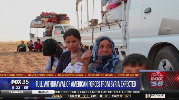 Full withdrawel of American forces in Syria