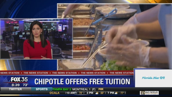 Chipolte offering free tuition to employees